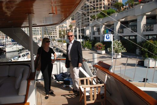 Visiting Superyacht Insurance Clients