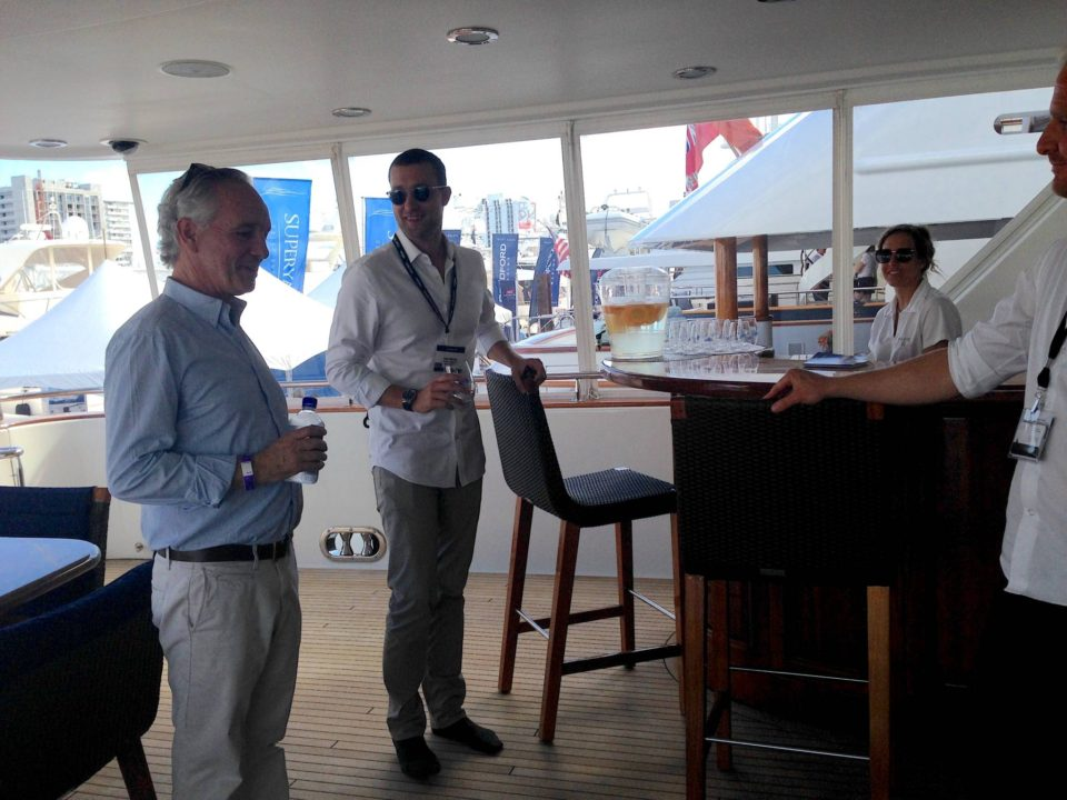 Onboard Superyacht Plan A at Fort Lauderdale Yacht Show